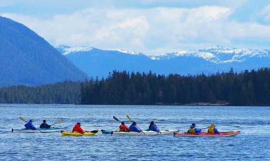 ocean kayak in juneau
